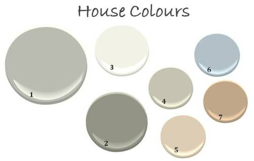 house colour chart
