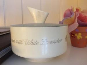 white lavendar
